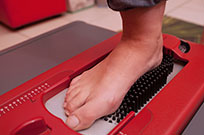 Foot During Scanning